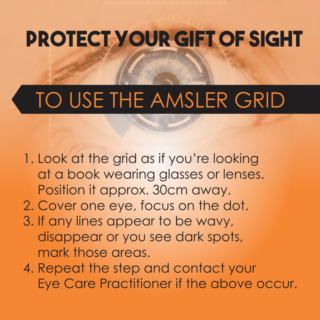 Amsler Grid test - Liana Engelbrecht Optometrist image 1